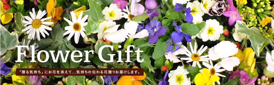「贈る気持ち」にお花を添えて...気持ちの伝わる花贈りお届けします。